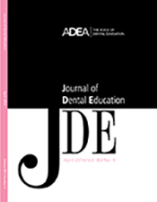 This Month in the Journal of Dental Education—April 2016