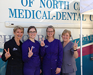 Dental Hygiene Students From Asheville-Buncombe Technical Community College Provide Treatment to Fair Workers