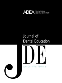 Preview the June 2014 Issue of the Journal of Dental Education