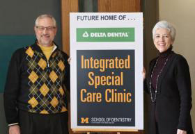 University of Michigan Receives $2 Million Gift from Delta Dental Foundation for New Clinic