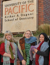 Staff, Residents, and Faculty Donate Scarves to Families in Need